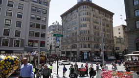 Union Square San Francisco Downtown stock footage
