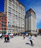 Union Square Scene Royalty Free Stock Photo