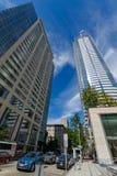 Union Square in Seattle, Washington stockfotos
