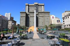 Union Square, SF Photographie stock