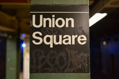 Union Square Station, New York Stock Images