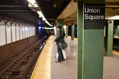 Union Square Station, New York Royalty Free Stock Photos