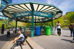 Union Square Subway NYC Stock Image