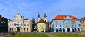 Union Square Timisoara Lizenzfreie Stockfotografie