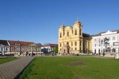 Union Square of Timisoara,. Romania Stock Image
