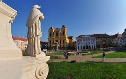 Union square , Timisoara, Romania. Union square is the main square of the ancient fortress of Timisoara Stock Images