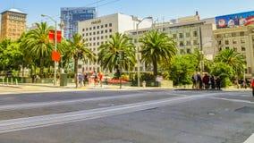 Union Square tvärgata Arkivbilder