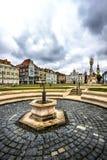 Timisoara`s Union square, Romania stock image
