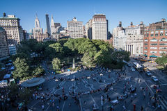 Union Square. A view of Union Square Park, NYC Stock Photography