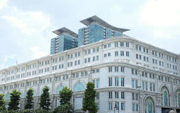 Union Square (VinCom A&B) in Sai Gon, Viet Nam. On a sunny day Stock Photos
