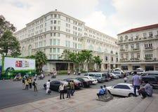 Union Square y hotel continentales Imágenes de archivo libres de regalías