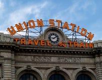 Union Station. Denver, Colordo Stock Photos