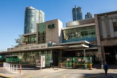 Union Station Bus Terminal Toronto Stock Images