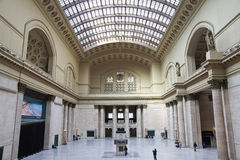 Union Station - Chicago, Ill. Feb. 5,2012 - Chicago, Illinois. Image of the Great Hall in Union Station in Chicago, Ill Stock Photos