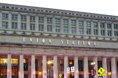 Union Station in Chicago. Chicago Union Station is a major railroad station that opened in 1925 Stock Photography