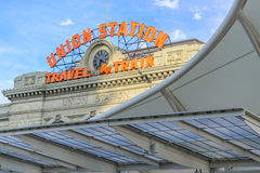 Union Station in Denver Colorado Royalty Free Stock Image