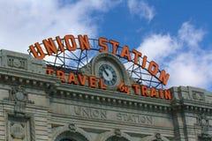 Union Station. Denver, Colorado newly restored Union Station Royalty Free Stock Photo