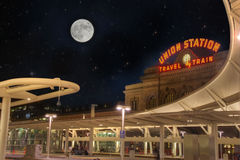 Union Station Denver Colorado Royalty Free Stock Photography