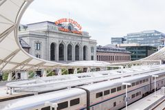 Union Station Royalty Free Stock Photos