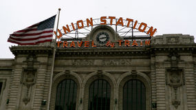 Union Station Denver Stock Photo