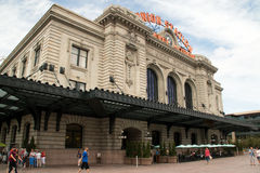 Union Station in Downtown Denver, Colorado Royalty Free Stock Photo