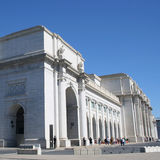 Union Station exterior Royalty Free Stock Images