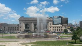 Union Station fountain Royalty Free Stock Photography