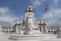 Union Station. An image of Union Station in Washington DC royalty free stock photos