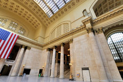 Union station interior, Chicago. City, Illinois Royalty Free Stock Photos