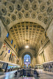 Union Station. Interior of Union Station in Toronto on a calm Sunday evening Stock Image