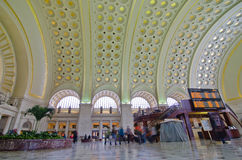 Union Station interior - Washington DC USA royalty free stock images