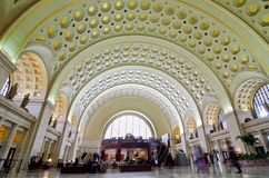 Union Station interior - Washington DC USA Stock Photos
