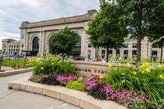 Union Station Kansas City Missouri. Beautiful Historic Union Station train station. Taken in Kansas City Missouri on June 24, 2014 Royalty Free Stock Photos