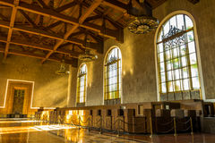 Union Station. Union Station in Los Angeles, California Stock Image