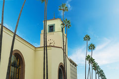Union Station in Los Angeles Royalty Free Stock Photography