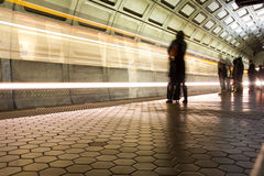 Union Station Metro station in Washington DC Stock Images