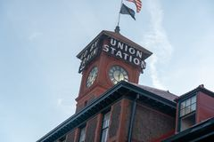 Union Station Building stock images