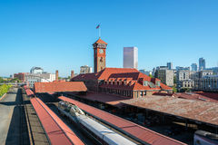 Union Station in Portland, Oregon Royalty Free Stock Photo