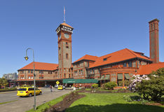 Union Station Portland Oregon. Royalty Free Stock Photos