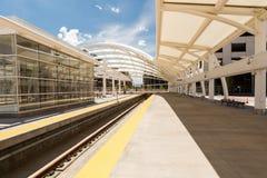Union Station. Progress of redevelopment of Union Station in Denver Stock Photos