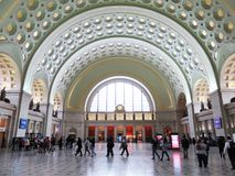 Union Station on a Saturday Evening Stock Photo