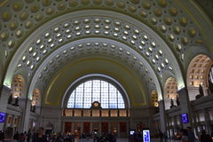 Union Station in Washington, DC Stock Photo