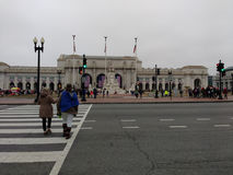 Union Station, Women`s March, Washington, DC, USA Stock Photo