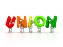 Union is strength Stock Images