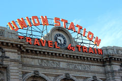 Union Train Station Denver Royalty Free Stock Images