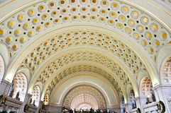 Union train station in Washington Stock Image