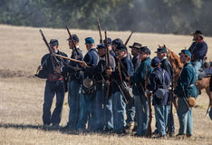 Union Troops Royalty Free Stock Photography