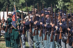 Union Troops Stock Image