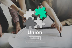 Union Unity Team Community United Concept. Union Unity Team Community United Royalty Free Stock Image