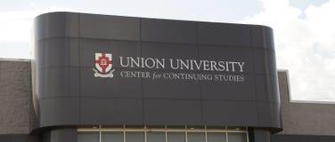 Union University Sign Jackson, TN Royalty Free Stock Images